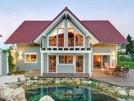Holzhaus amerikanisch   Holzhäuser von Stommel Haus