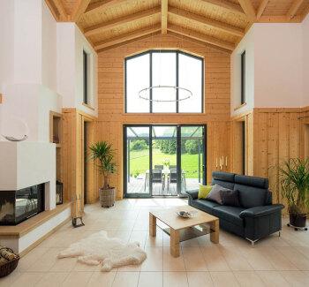 Moderne holzhäuser innen  Altersruhesitz aus Holz | Stommel Holzhaus Blog