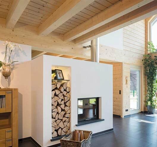 holzhaus bauen mit stommel haus. Black Bedroom Furniture Sets. Home Design Ideas