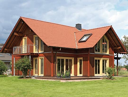 Der klassiker holzh user von stommel haus for Haus bauen muster