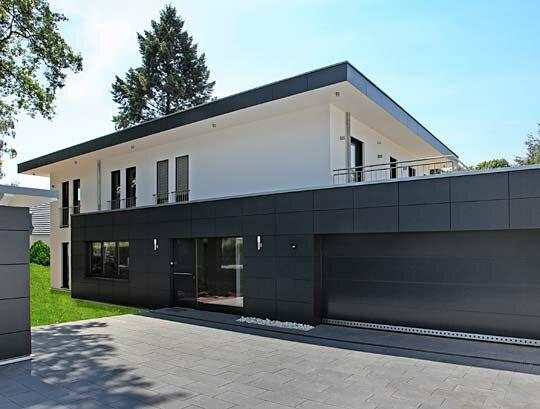 Stadtvilla in bonn holzh user von stommel haus for Bauhausstil haus