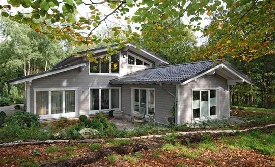 Sehr Holzhaus, eine Ebene | Holzhäuser von Stommel Haus BH11