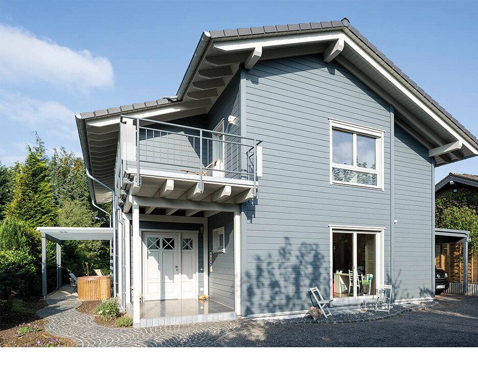 familienhaus mit skandinavischem flair holzh user von stommel haus. Black Bedroom Furniture Sets. Home Design Ideas