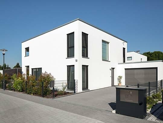 Bauhaus Wohnen wohnen im bauhausstil | holzhäuser von stommel haus