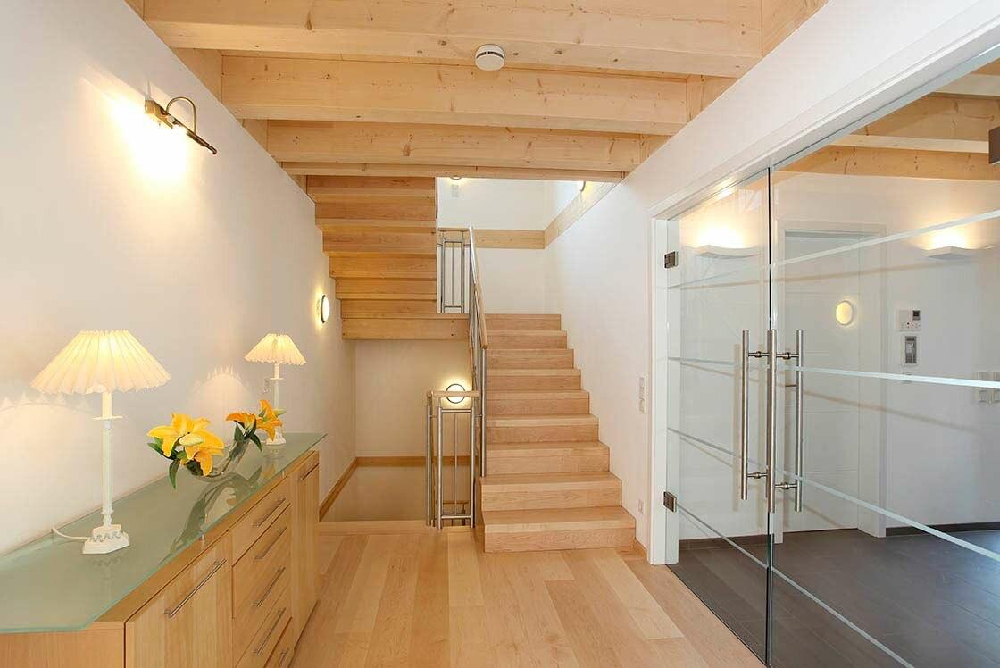 holzhaus bauhausstil eine stadtvilla in bonn holzh user von stommel haus. Black Bedroom Furniture Sets. Home Design Ideas