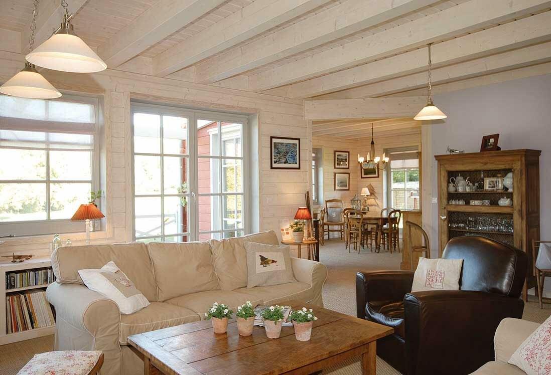Rotes Schwedenhaus Das Wohnzimmer