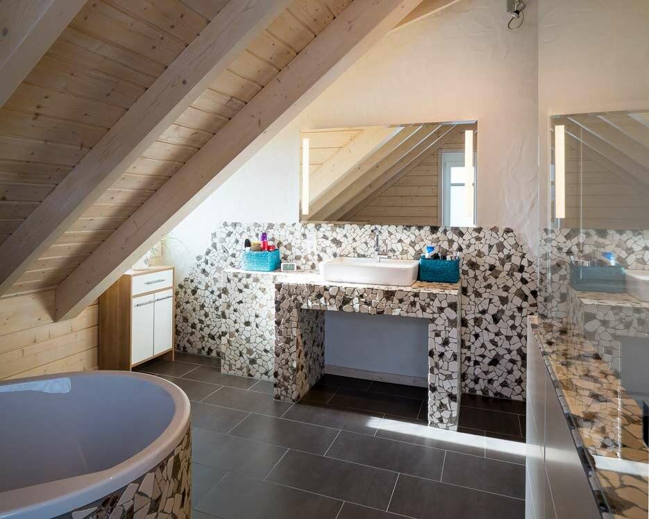 skandinavisches holzhaus landhausstil modern holzh user von stommel haus. Black Bedroom Furniture Sets. Home Design Ideas