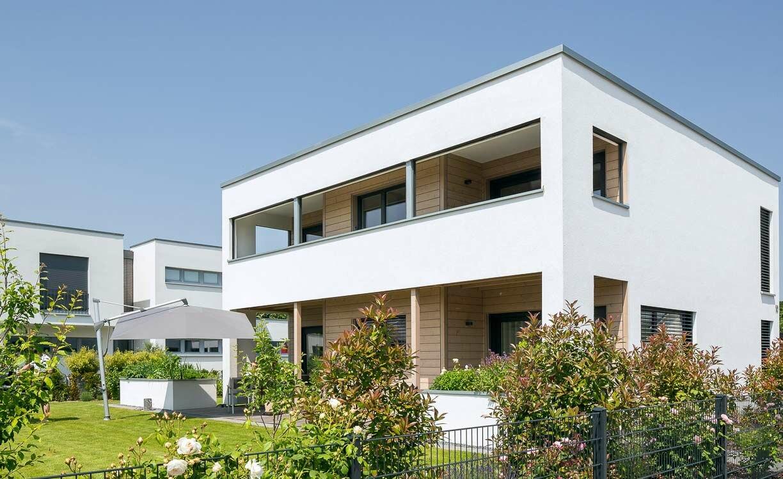 Garten Bauhausstil wohnen im bauhausstil holzhäuser stommel haus