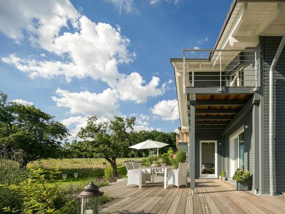 Moderne Landhaus Architektur Holzhauser Von Stommel Haus