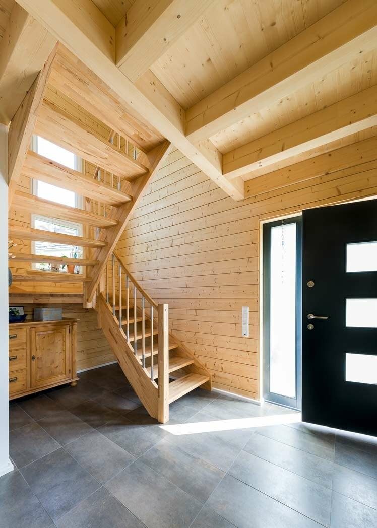 haus selber planen holzh user von stommel haus. Black Bedroom Furniture Sets. Home Design Ideas